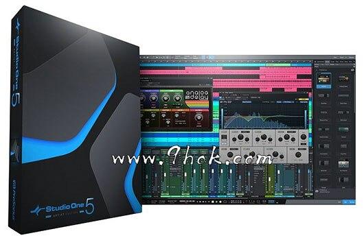 宿主软件 - PreSonus Studio One 5 Professional v5.1.0[WiN]