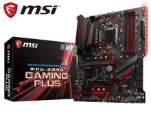Carte mère LGA 1151 pour MSI MPG Z390 GAMING PLUS, Intel 8e et 9e Gen, 64 go DDR4, PCI-E, 3.0 M.2, DVI, ATX, nouvelle collection