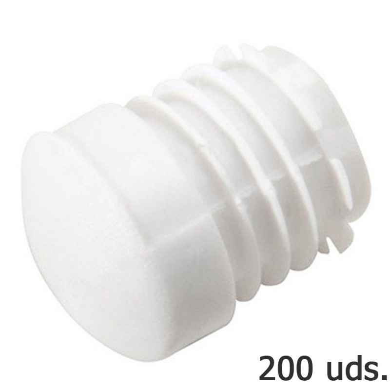 Cone Plastic Round Inner White Outer Tube Ø 23mm. Bag 200 PCs