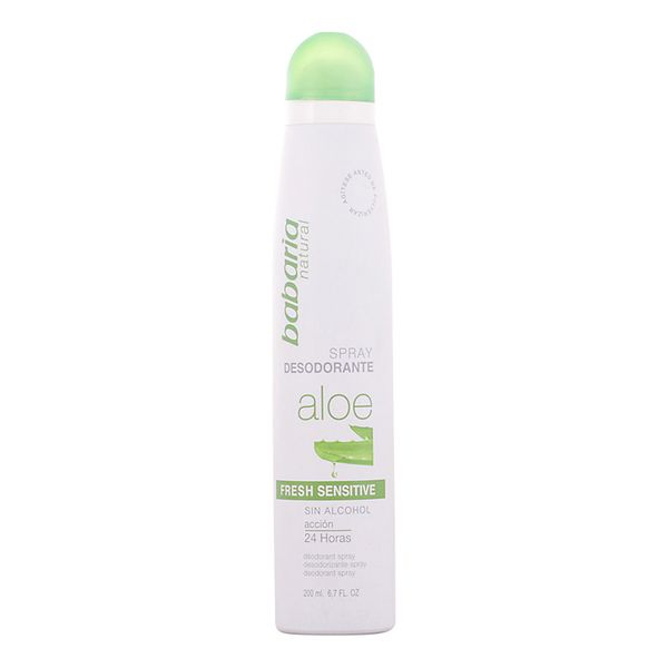 Spray Deodorant Aloe Vera Fresh Sensitive Babaria (200 Ml)
