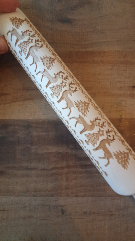 Kitchen Printing Rolling Pin photo review