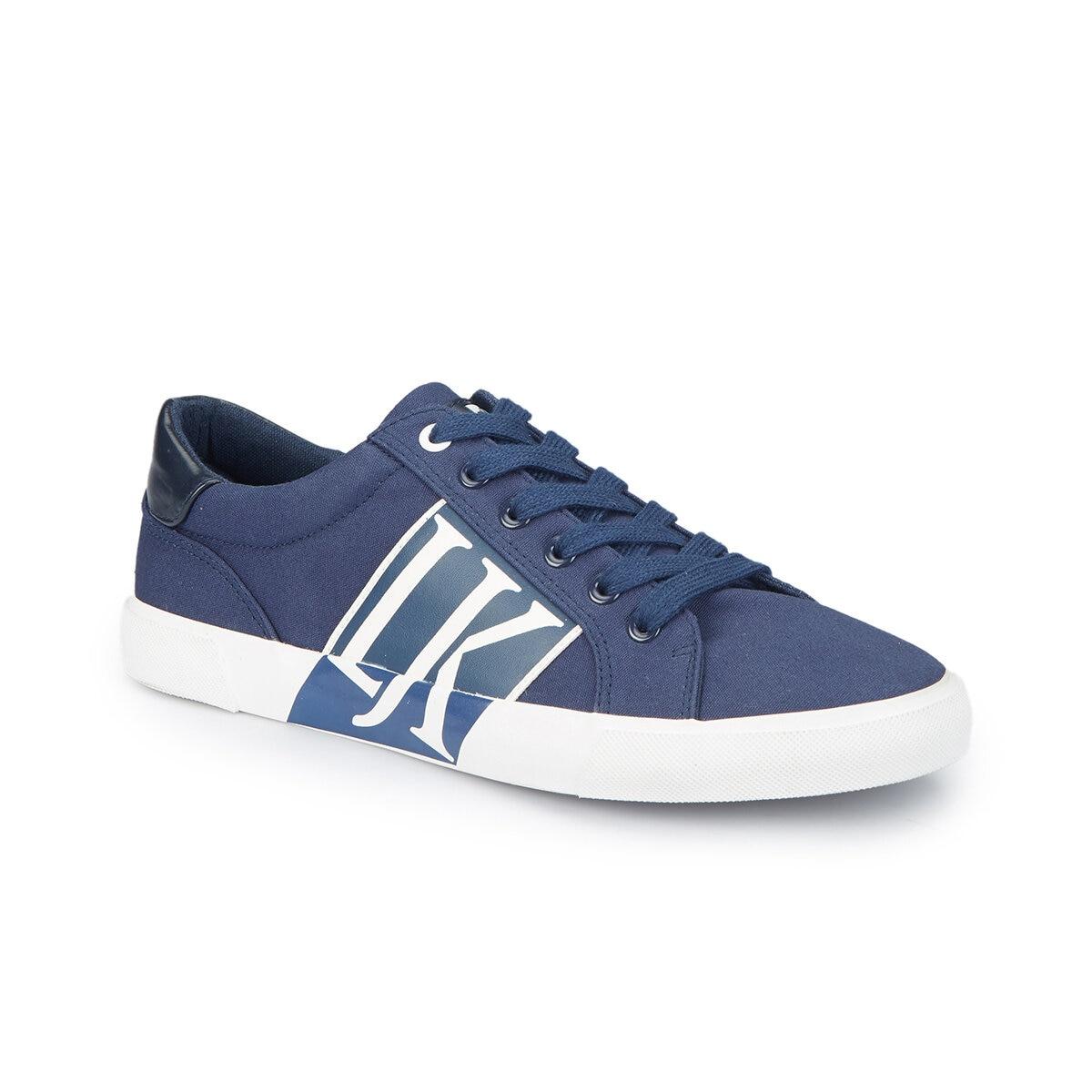 FLO GUNNER Navy Blue Men 'S Sneaker LUMBERJACK