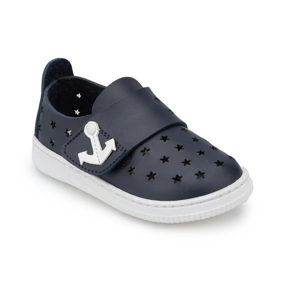 FLO 91.510270.B Navy Blue Male Child Sneaker Shoes Polaris