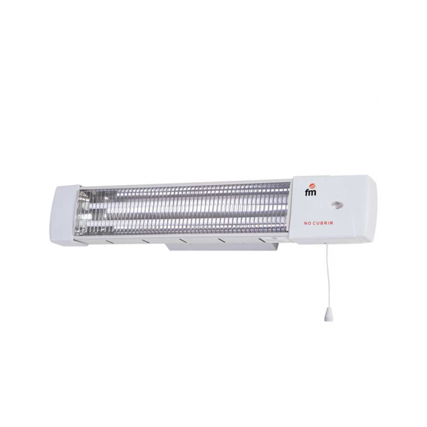 Electric Heater Grupo FM 1502-C 1200W White