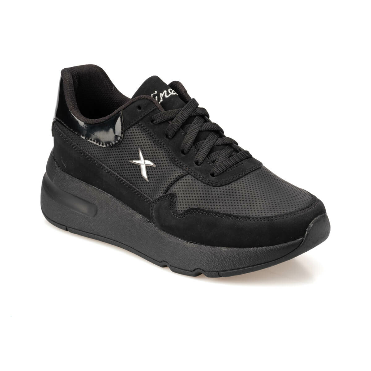 FLO VIRGIN 9PR Black Women 'S Sneaker Shoes KINETIX