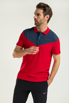 Finn flare bright men's polo shirt made of 100% cotton, collection weight-2020
