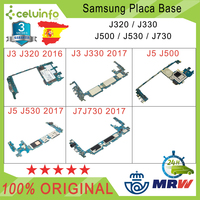 Original Motherboard free Samsung Galaxy J3 J320 J3 J330 J5 J500 J5 J530 J7 J730 16G Recovered Shipping from Spain