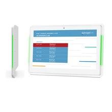 Дисплей расписания для конференц зала с открытым исходным кодом 13,3 дюйма светодиодный Ной панелью (Android OSD 8,1, RK3288, Wi Fi, ethernet с PoE)