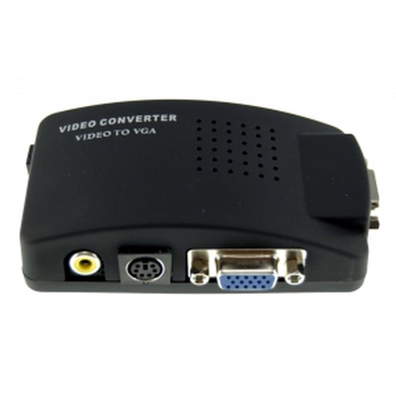 Video/S-Video to VGA Converter
