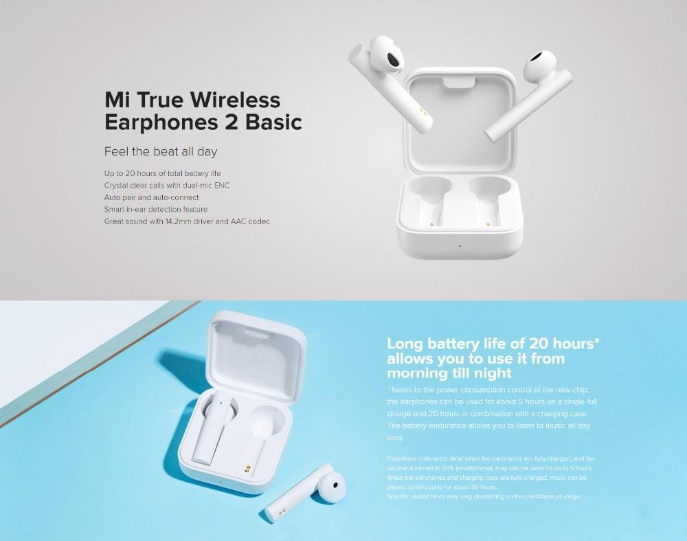 Mi True Wireless Earphones 2 Basic 3