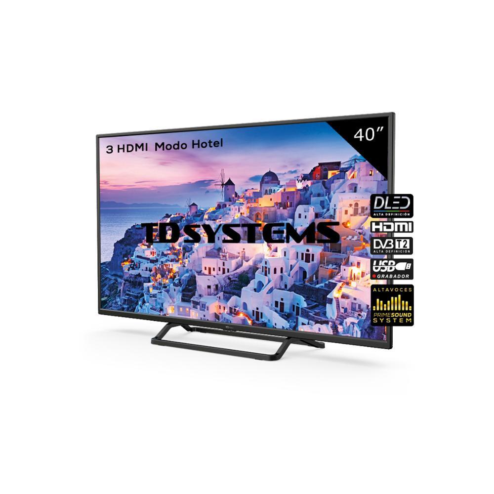 ТЕЛЕВИЗОРЫ 40-дюймовые TD системы K40DLX9F [доставка из Испании, гарантия 2] 3x HDMI, DVB-T2