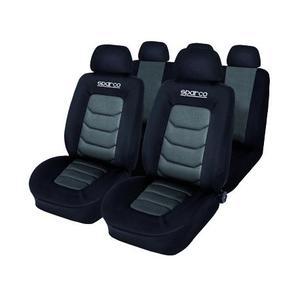 Housses de siège de voiture complet | SPARCO, gris