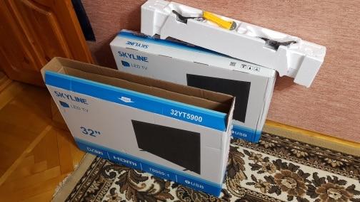 "TV 32"" SKYLINE 32YT5900 HD 3239inchTV dvb dvb t dvb t2 digital Smart TV    - AliExpress"