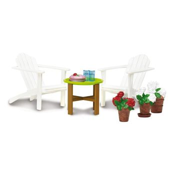 the dolls house Doll House Accessories Lundby  House furniture Смоланд Garden set for children toys for kids game furniture dolls doll houses furniture for doll houses bed for dolls accessories