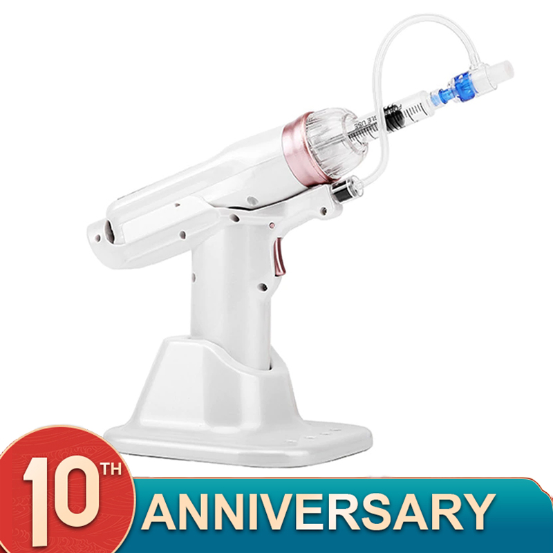 Hydrolifting Gun Korea Mesotherapy EZ Water Injector Mesotherapy Negative Pressure Injection Needles Tip Negative Beauty Device