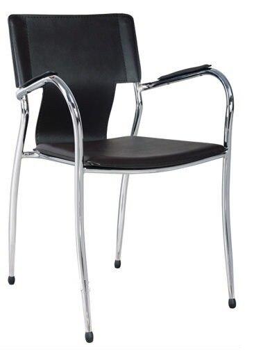 Armchair BERLIN, Plating, Nappel Black