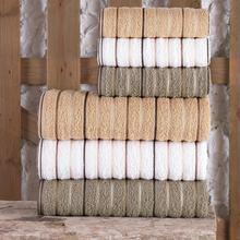 Gold %100 Pamuk 6'lı Antibakteriyel Banyo Havlu Seti Soft Havlu Ultra Yumuşak Yüksek Emicili Pamuklu Havlu Sızdırmaz Kalite