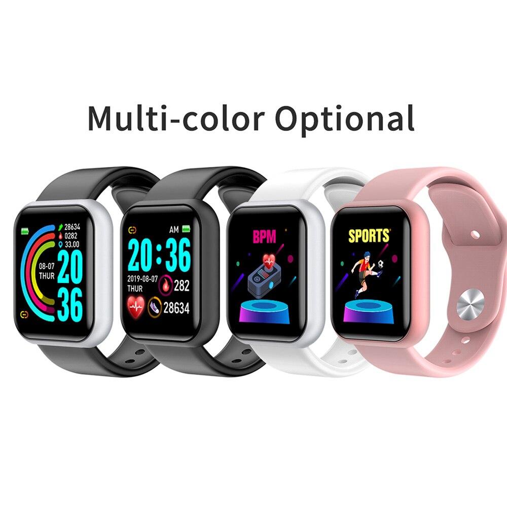 L18 Waterproof Smart Watch Men Women Fitness Tracker Heart Rate Monitor Smart Bracelet Sports Clock For XiaoMi For Apple IOS