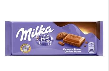 100 pcs nestle milka chocolate 100g free shipping