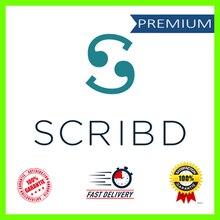 SCRIBD-lector de libros electrónicos en PDF, Cuenta de suscripción con tiempo de vida, con garantía mundial, envío gratis