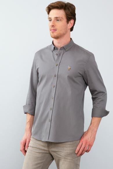 U.S. POLO ASSN. Plain Slim Shirt