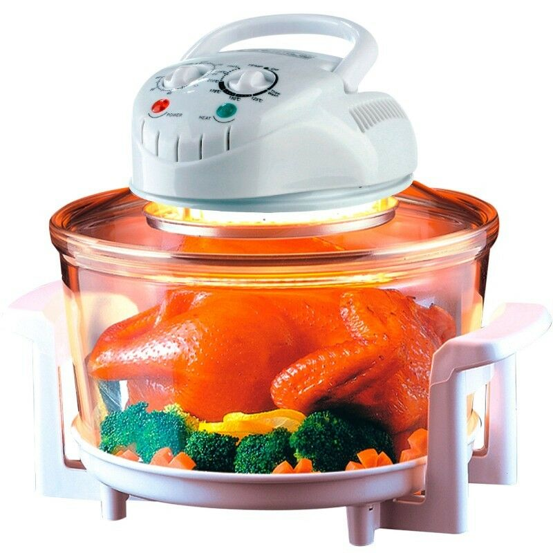 CONVECCION furnace electric halogen cooker healthy 12 liters accessories quality|Ovens| |  - title=