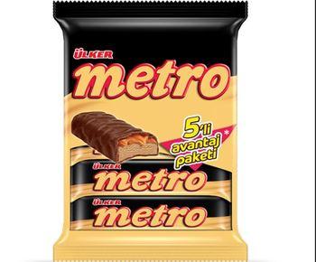 Ülker Metro wiele 5 #215 36 Gr pyszne przekąski pyszne pyszne czekolady tanie i dobre opinie Mężczyzna 12 + y DE (pochodzenie)