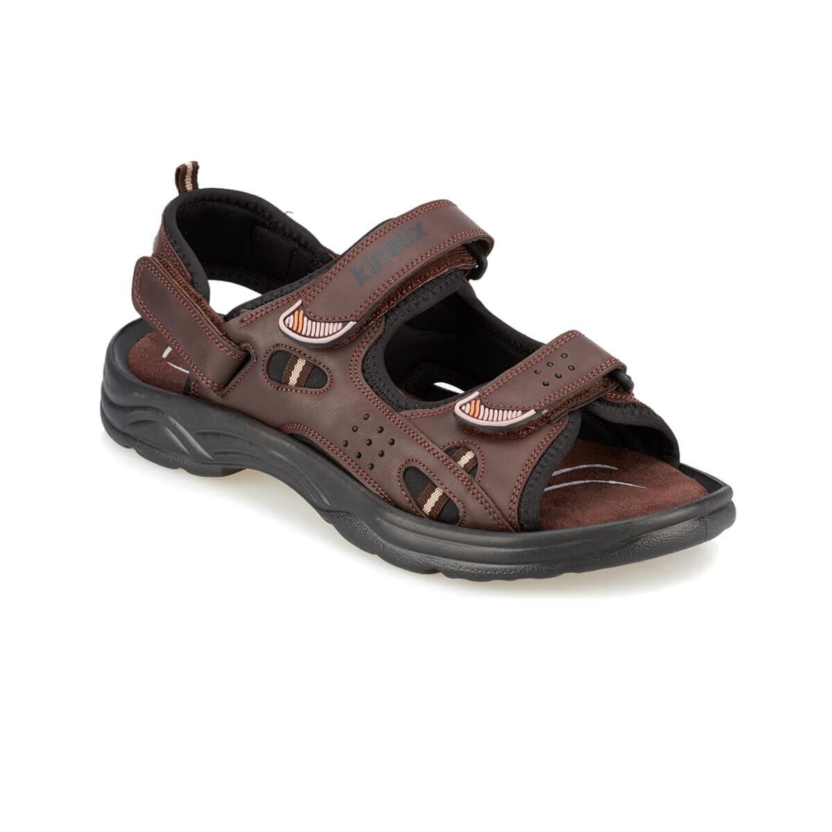 FLO BERTIE Brown Male Sandals KINETIX