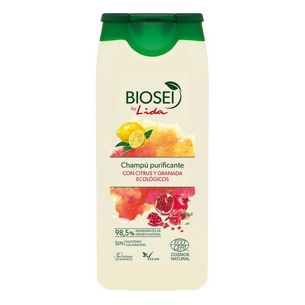 Purifying Shampoo Biosei Citrus & Granada Lida (500 Ml)