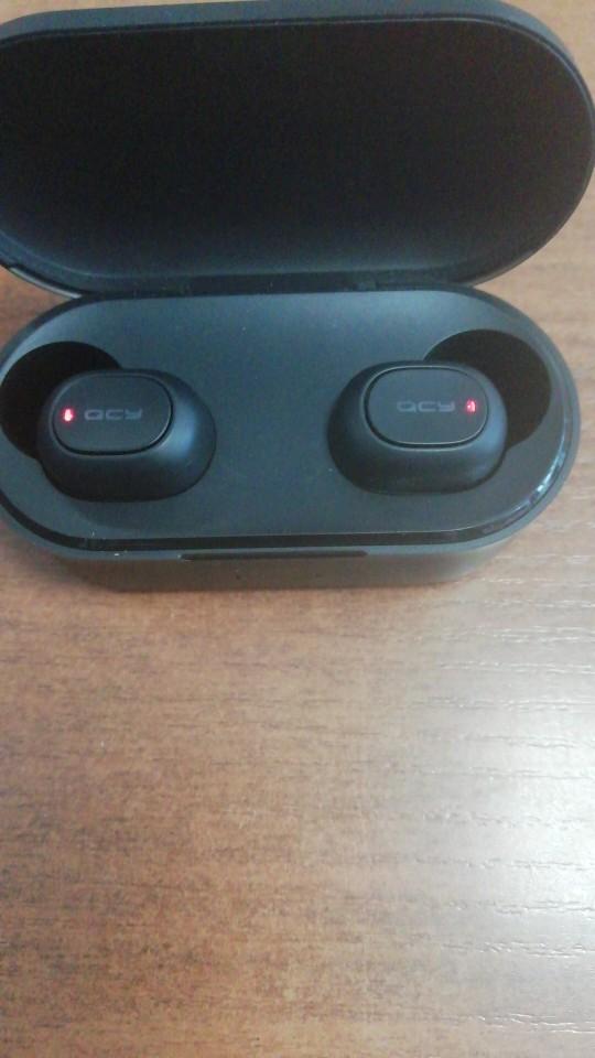 QCY QS2 T1S TWS Bluetooth V5.0 Headset Sports Wireless Earphones 3D Stereo Earbuds Mini in Ear Dual Microphone Charging box Bluetooth Earphones & Headphones    - AliExpress