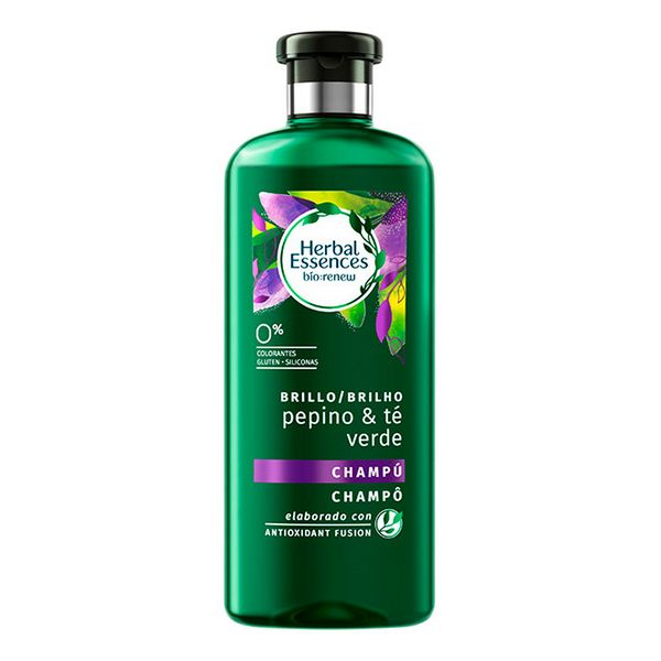 Revitalizing Shampoo Bio Brillo Pepino & Té Verde Herbal (400 Ml)