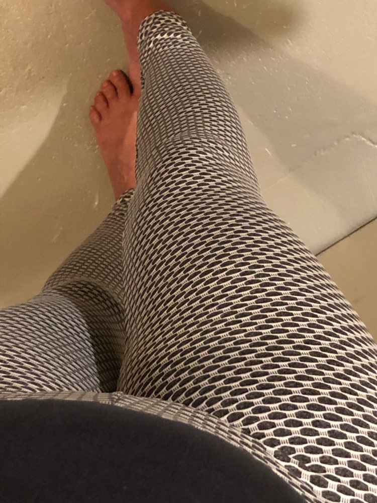 Elastic Waist Sports Leggings photo review