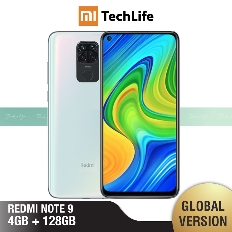 Global Version Xiaomi Redmi Note 9 4GB RAM 128GB ROM (Brand New / Sealed) redminote9, note9, Smartphone mobile