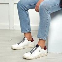 FLO PIZZI Weiß Männlichen Sneaker US POLO ASSN.-in Freizeitschuhe für Herren aus Schuhe bei