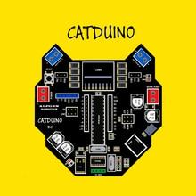 Catduino DC 16 МГц CH340 ATMEGA328P-PU Arduino Uyumlu Orjinal