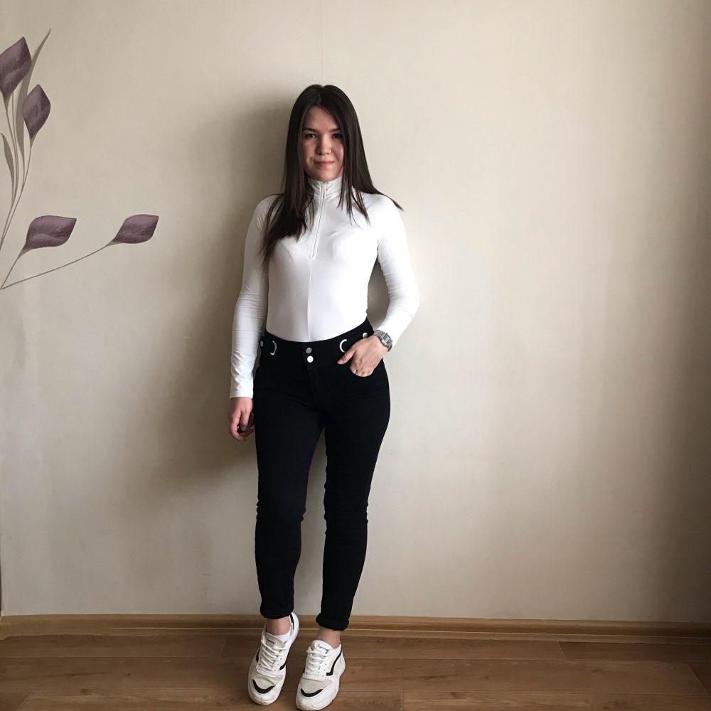 Evenworse Sexy Zipper Bodycon Jumpsuit 2020 Spring Fashion Long Sleeve Round Collar Slim Black Bodysuit Nightclub Club Christmas reviews №4 57209