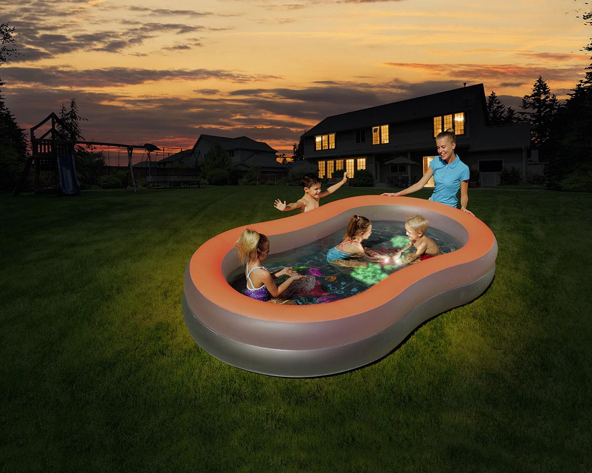Bestway Inflatable Pool Child Doodle Glow-54136