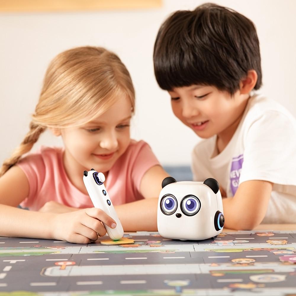 Makeblock mTiny Coding Robot Kit, early children education robot Smart Robot Toy for Kids Aged 4+, 4