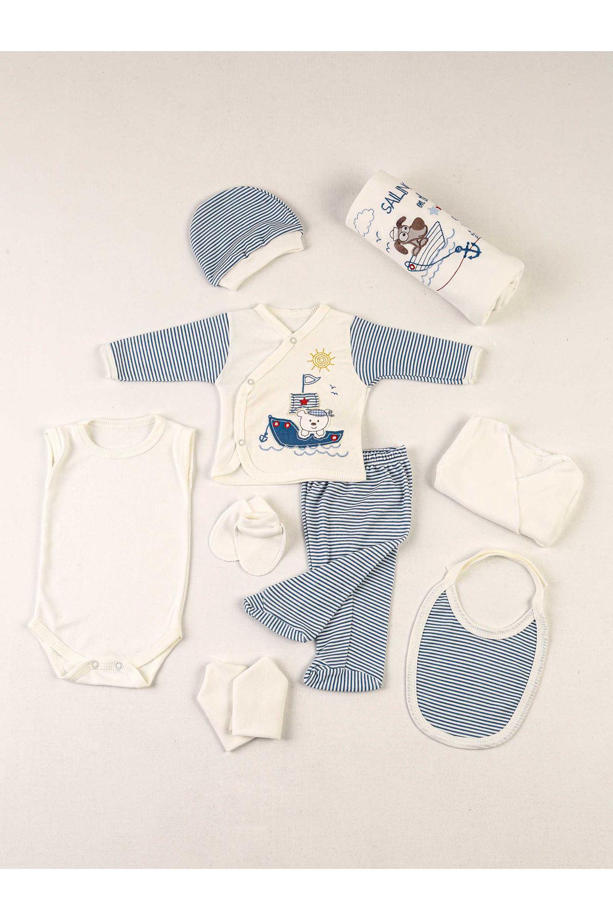Blue Newborn 10 Lu Male Baby Hospital Output