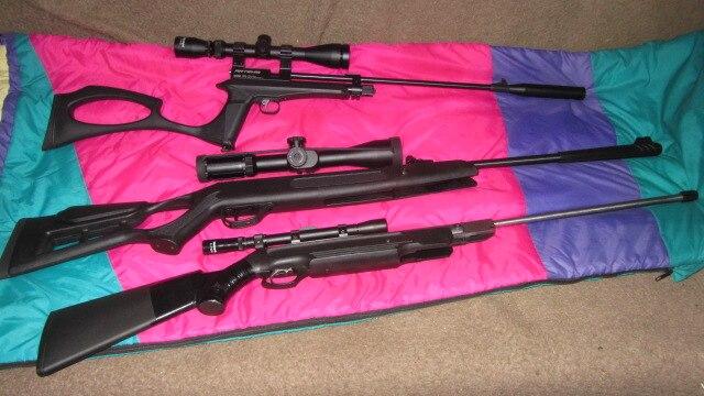 -- Riflescopes Vermelho Iluminado