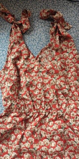 2020 New Summer Spaghetti Strap Short Dress Women Above Knee Mini V Neck Chiffon Print Dress