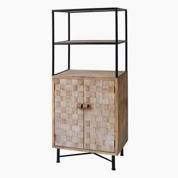 Shelves Metal And Fir Wood (145 X 60 X 38 Cm)