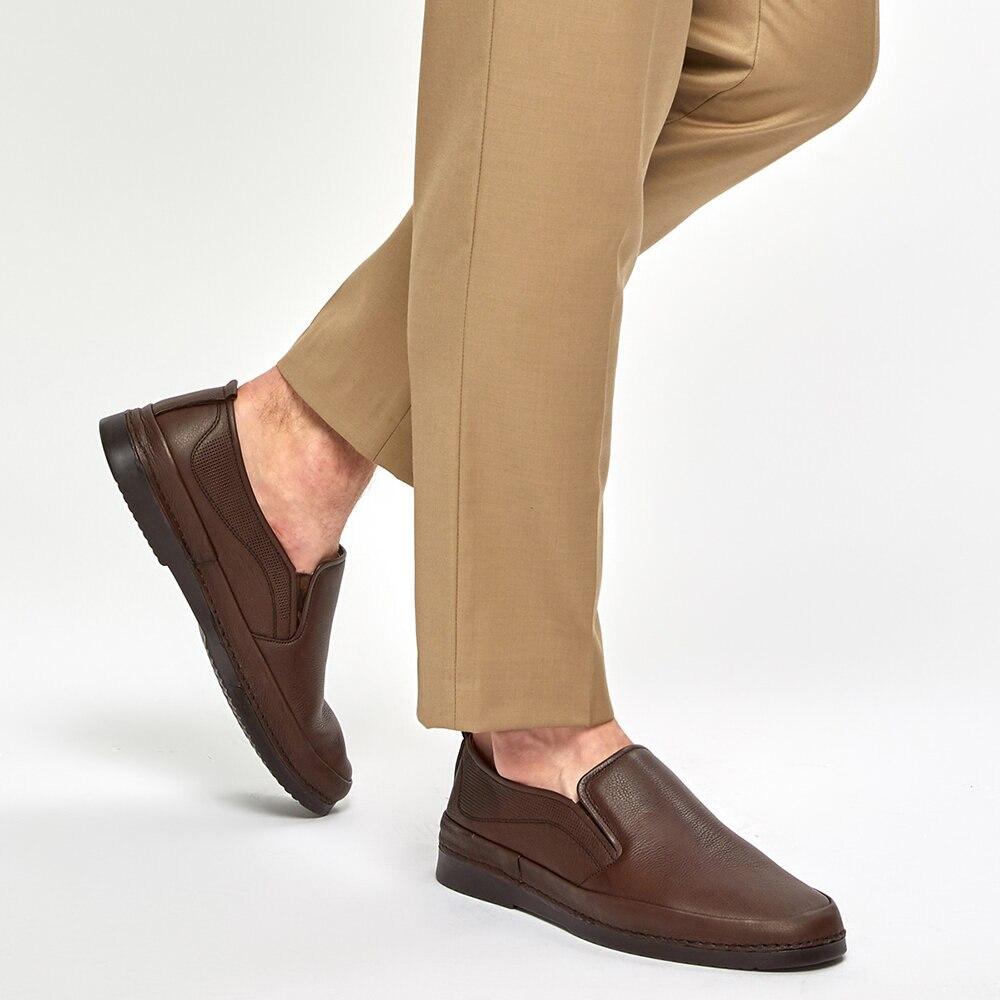FLO 91. 100554.M Brown Men 'S Classic Shoes Polaris 5 Point