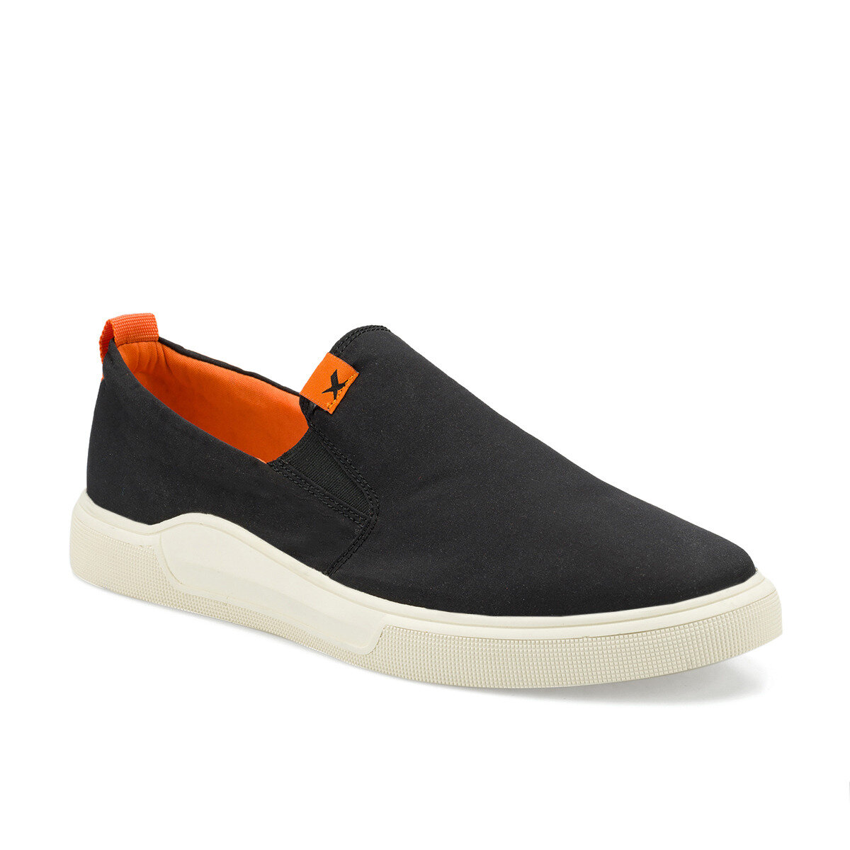 FLO MERDA Black Slip On Shoes KINETIX