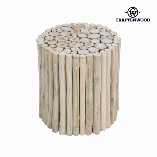 Trunk Stool Craftenwood (40 X 40 X 40 Cm) Wood - Autumn Collection