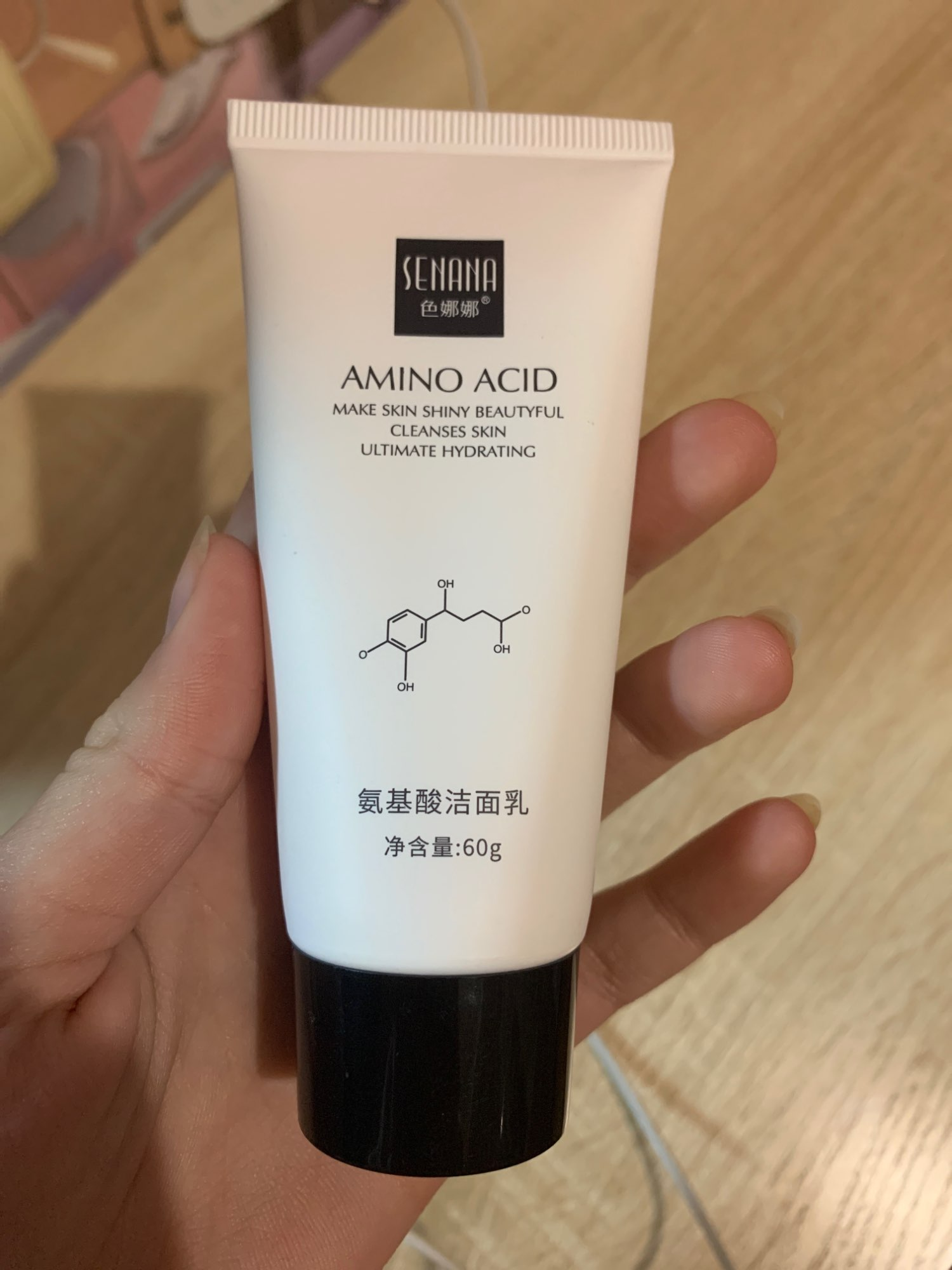SENANA Nicotinamide Amino Acid Face Cleanser photo review