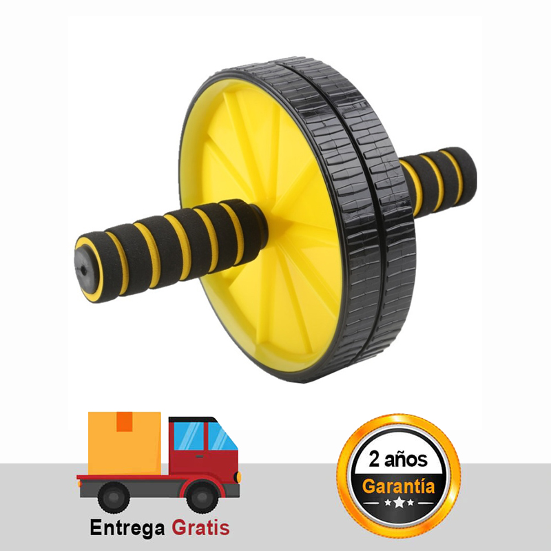 Abdominal Roller Exercise Wheel Fitness AB Wheel Core Strength Training Apparatus For Men And Women Home Gym