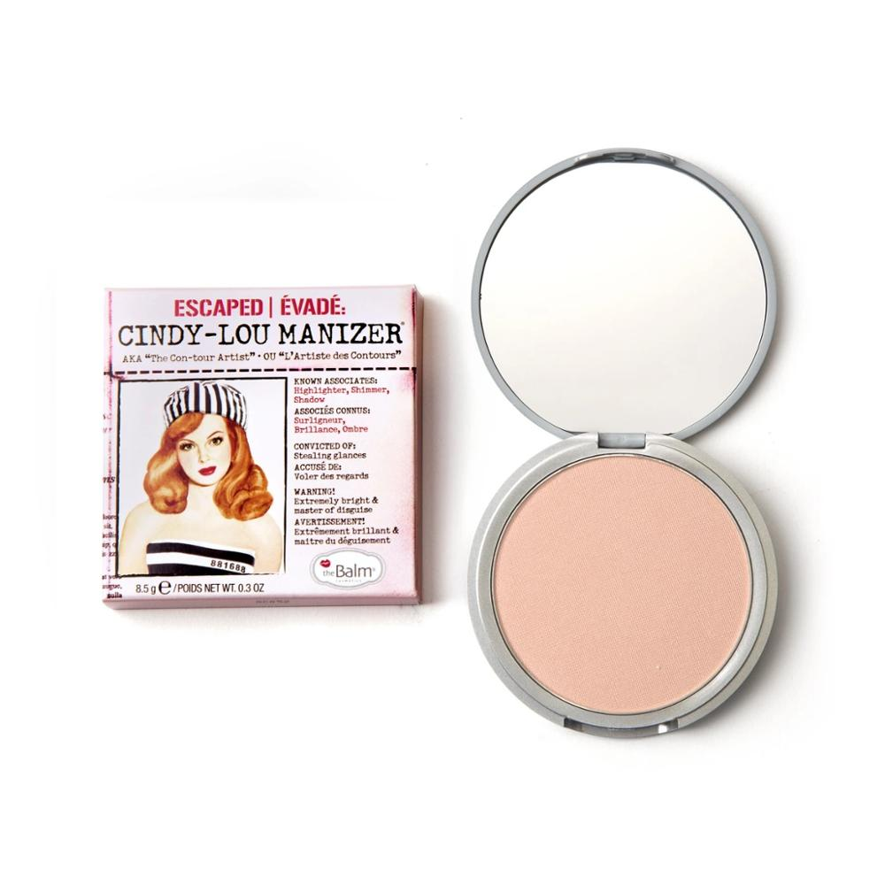 o balsamo cindy lou manizer blush sombra highlighter bronzer natural shimmer rosa pessego nu rosto maquiagem