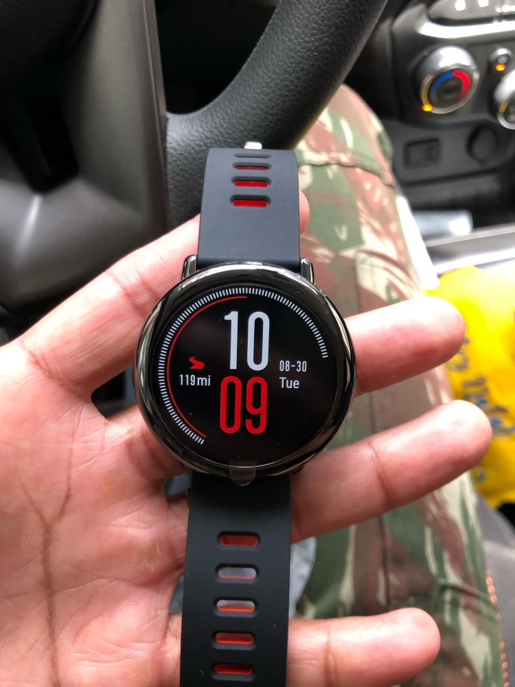 Русский Amazfit Pace Smartwatch Amazfit Smart Watch Bluetooth Music GPS Information Push Heart Rate For Xiaomi phone redmi 7 IOS|Smart Watches| |  - AliExpress