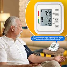 Przenośne cyfrowe ciśnienie krwi w ramieniu uchwyt do monitora zespół typu BP tętno tonometr opieki zdrowotnej Pulse narzędzie pomiarowe tanie tanio Chin kontynentalnych